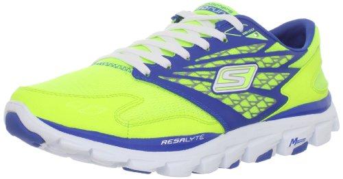 Skechers Men'S Go Run Ride Running Shoe,Lime/Blue,14 M Us