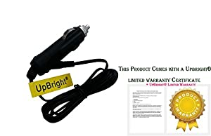 UpBright® New Car DC Adapter For Radio Shack PRO-197 Pro-2055 Cat. No. 20-197 20197 20-428 20428 RadioShack Digital Trunking Desktop Mobile Radio Scanner Auto Vehicle Boat RV Cigarette Lighter Plug Power Supply Cord Charger Cable PSU