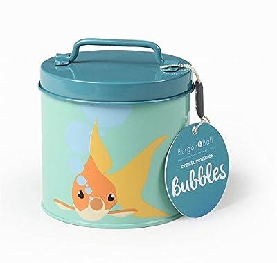 Pet Treat Tin - Bubbles Goldfish - Fish Food Tin