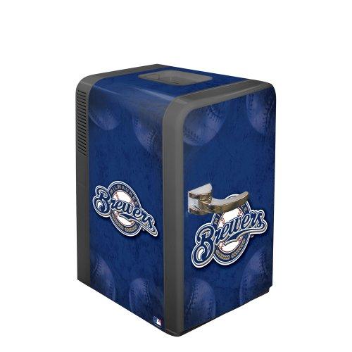 Mlb Milwaukee Brewers Portable Party Refrigerator