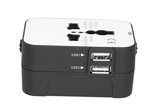 Universal Adaptor Worldwide Travel Adapter With Built In