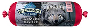 Wilderness Blue Buffalo Salmon Roll Wet Dog Food, 2.25 lb