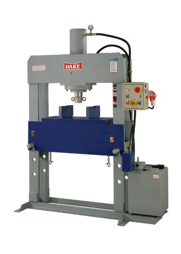 "Dake Force 100 Model Electrically Operated Hydraulic Dura Press, 100 Ton Capacity, 220/440V, 3 Phase, 75"" Length X 33"" Width X 90"" Height"