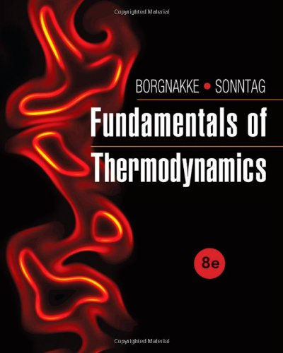 Fundamentals Of Thermodynamics front-488852