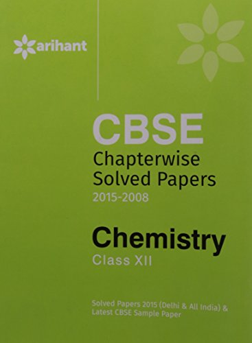 CBSE Chapterwise Questions: Answers Chemistry (Old Edition)
