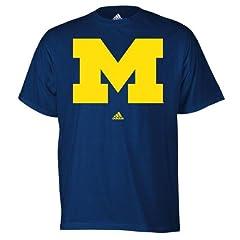 Buy Michigan Wolverines Navy adidas Pick 6 T-Shirt by adidas