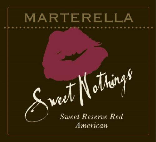 Nv Marterella 'Sweet Nothings' Sweet Reserve Red American 750 Ml