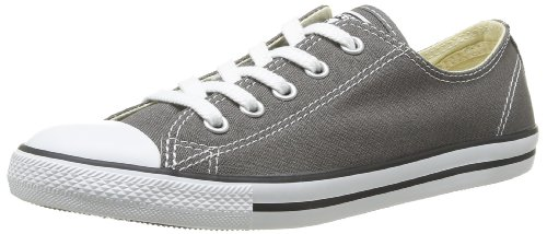 Converse Womens Chuck Taylor All Star Dainty Ox Sneaker Charcoal Size 6