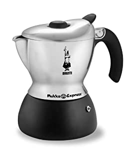 Bialetti 6990 Mukka Express Cappuccino Maker, Polished Aluminum