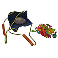 Water Sports 3 Person Water Balloon Launcher with 72 Water Balloons (Youth Size)