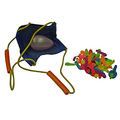 Water Sports 3 Person Water Balloon Launcher with 72 Water Balloons (Youth Size) - 1