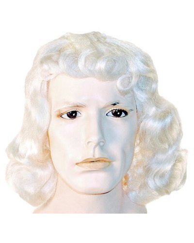 [Quaker William Penn Oats Colonial Wig - White] (Quaker Costumes)