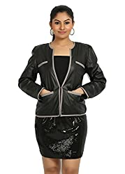 Fbbic Women's Jacket (16134_Small_Black)