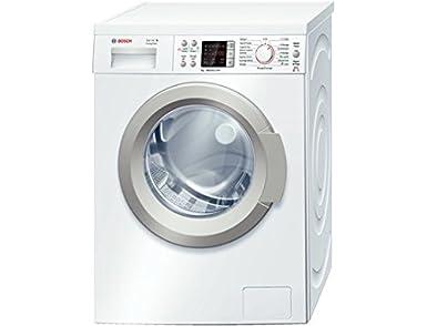 Bosch WAQ28413FF machine à laver - machines à laver (Autonome, Front-load, A+++-30%, A, B, Blanc)
