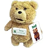 "Ted 8"" Plush with Sound, R-Rated, 12 Phrases"