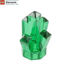"Amazon.com: Lego Parts: Rock 1 x 1 Crystal ""5 Point"" (Transparent"