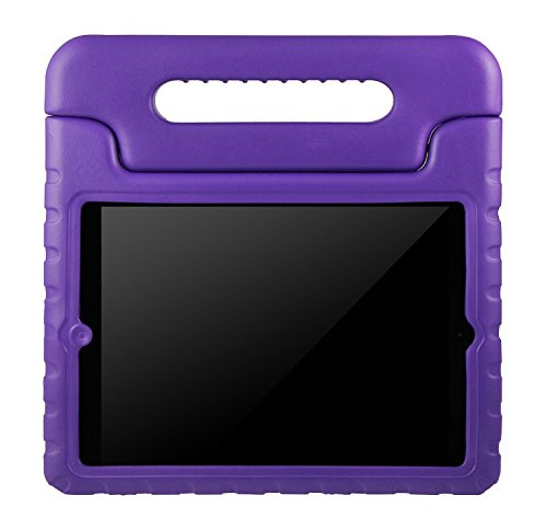 iPad cases, ANZOL lightweight shockproof cover case with handle stand for kids for Apple iPad 2 iPad 3 iPad 4(Purple) (Chicken Ipad Mini Case compare prices)