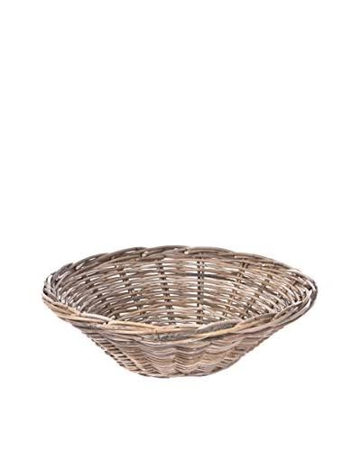 Skalny Rattan Bowl, Grey
