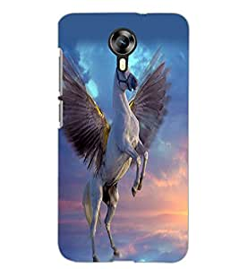 MICROMAX CANVAS XPRESS 2 E313 FLYING HORSE Back Cover by PRINTSWAG