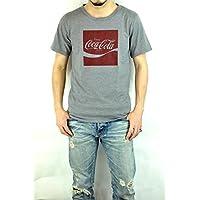 ジーアールエヌ(grn)GU421083R コカ・コーラプリントTEE COCA・COLA S/STEE バックプリント 半袖Tシャツ