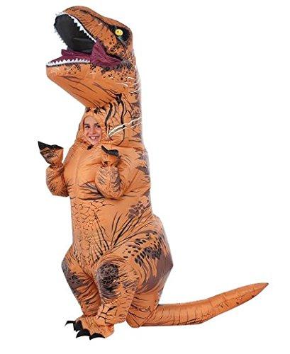 610821 (Medium 8-10) Kids T Rex Costume Inflatable (Godzilla Inflatable Costume)
