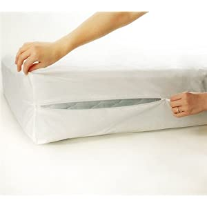 "Allergy Protective 15"" Deep Full Zippered Mattress Protector"