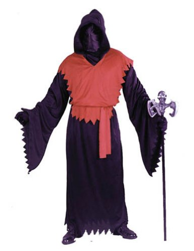 Robe Evil Ghoul Deluxe Red Halloween Costume - 1 size
