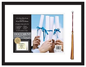 MCS Graduation Shadowbox Document and Tassel Frame