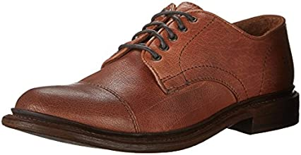 FRYE Men's Jack Oxford, Lace-Up Shoe, Whiskey, 10 M US
