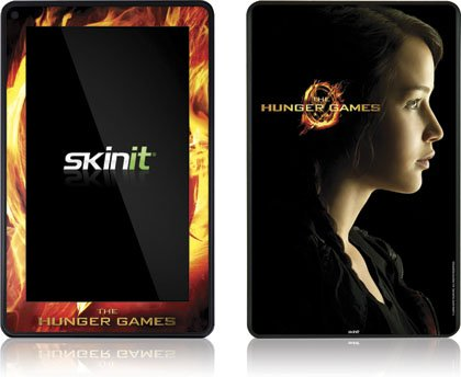 Skinit The Hunger Games -Katniss Everdeen Vinyl Skin for Amazon Kindle Fire