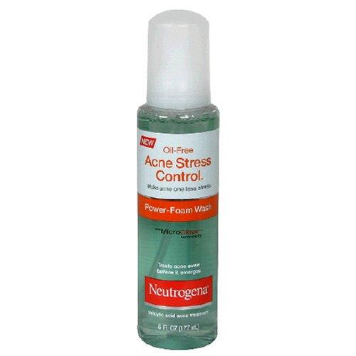 Neutrogena Acne Stress Control, Power Foam Wash, 6 Ounce