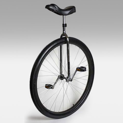 Image of Nimbus Titan 36 Inch Commuting / Touring Unicycle - Chrome (UNI-UDC-36)