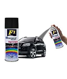 motorbike paintwork spray cans f1 aerosol spray paint black matte. Black Bedroom Furniture Sets. Home Design Ideas