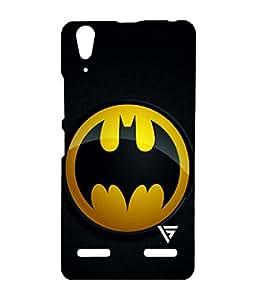 Vogueshell Batman Logo Printed Symmetry PRO Series Hard Back Case for Lenovo A6000