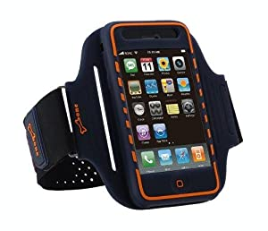 Sports Armband Case & Screenguard for iPhone 3GS/3G by Bone - Blue