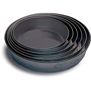 Paderno World CuisineNon-Stick Round Cake Pans