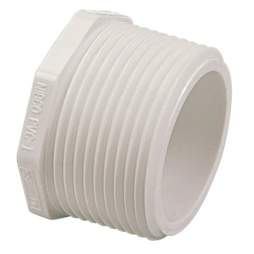 Nibco series pvc pipe fitting plug schedule npt male