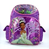 """Disney Princess and the Frog - Evening Star Large 16"""" Backpack"""