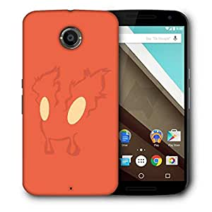 Snoogg Fury Designer Protective Phone Back Case Cover For Motorola Nexus 6