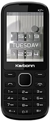 Karbonn K27+ (Black)