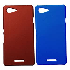 Winsome Deal Hard Back Cover Case for Sony Xperia E3 (Pack Of 2)