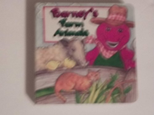 Barney's Farm Animals Children's Book - 1