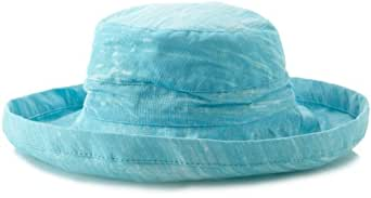 Tommy Bahama Women's Washed Sun Hat, Sky, One Size