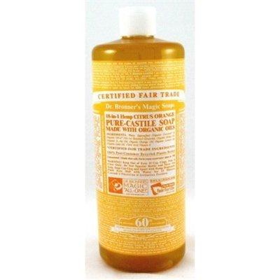 Dr. Bronner'S Liquid Soap Organic Citrus 32 Oz ( Multi-Pack)