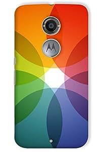 IndiaRangDe Hard Back Cover FOR Motorola Moto X2 (X 2nd Gen)
