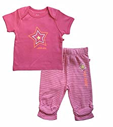 Babeez Baby Girl 2pcs set (Top + Pant set)
