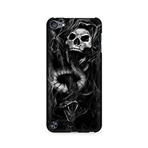 Mobicture Skull Abstract Premium Printed Case For Apple iPod Touch 5