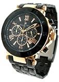[サルバトーレマーラ]salbatorremarra 腕時計 メンズ ウォッチ クロノグラフ SM7019 PG BK メンズ