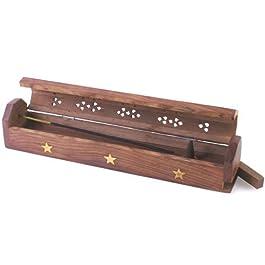 De madera de gran calidad y varilla de incienso de metal y cono de caja Mountain - Hexbug oruga