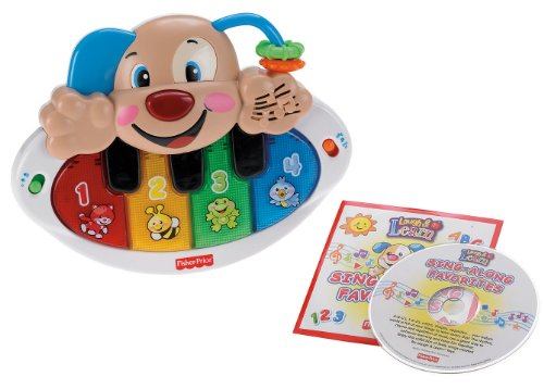 Fisher-Price Laugh and Learn Puppy Piano with Bonus CD - 1